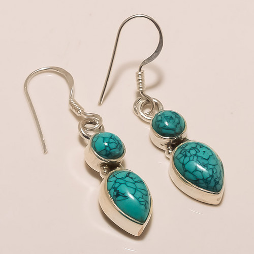Designer Fashionable Regular Turquoise Earring