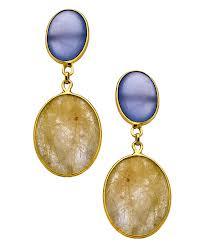 Golden Rutile earrings