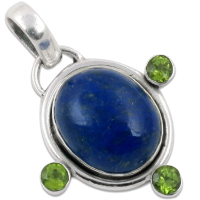 Lepis Gemstone pendant