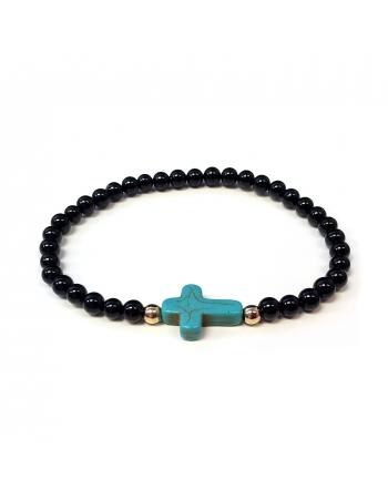 Natural Black Bead bracelets