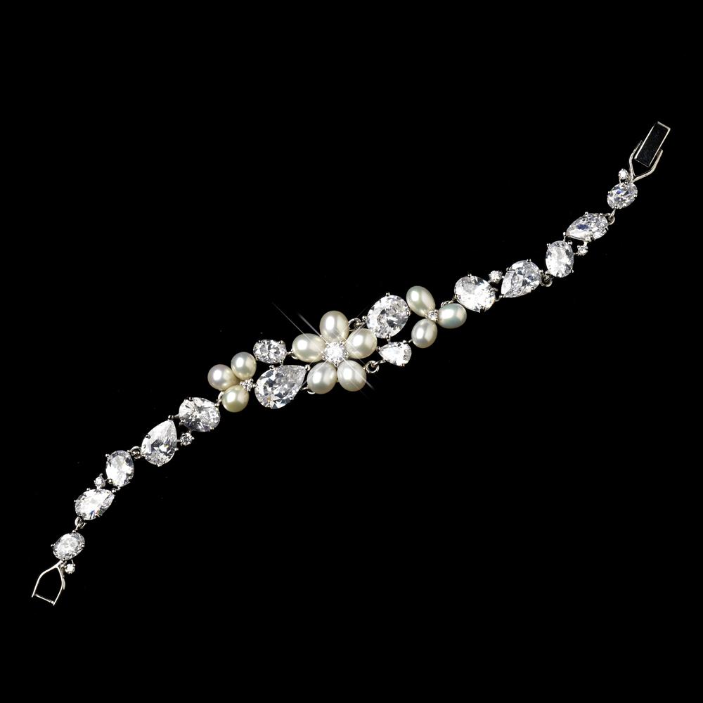 Silver Bridal bracelets