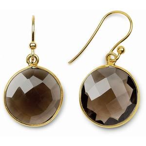 Silver Smoky earrings
