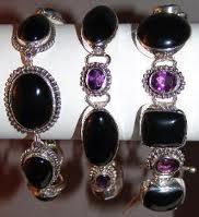 Sterling Silver Amethyst Bracelets