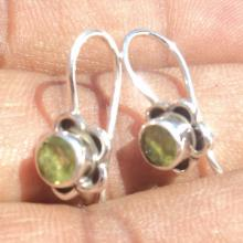 Amazing Natural Peridot Gemstone Earrings - Birthstone Earrings - Fashion Earrings - Beach Earrings - Love Gift - Handmade Earrings
