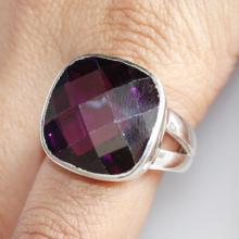Amethyst Ring, A Powerful And Protective Stone, Solid Sterling Silver Gemstone