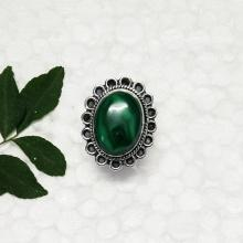 Attractive NATURAL MALACHITE Gemstone Ring, Handmade Ring, Birthstone Ring, 925 Sterling Silver Ring, Fashion Beach Ring
