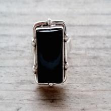 Black Onyx Ring - Mens Ring - Mens Silver Ring - Mens Jewelry - Unique Mens Ring - Black Ring - Black Onyx