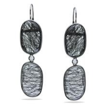 Black Rutile earrings