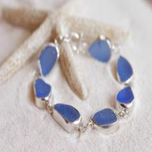 Designer silver Bezel bracelets