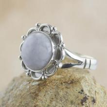 Guatemalan Hand Crafted Lilac Jade Ring