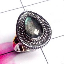 Labradorite Stone,Labradorite Ring, Chunky, Cocktail,Ring,Carved Silver,Personalized,Silver Ring,Solid 925 Silver Rings