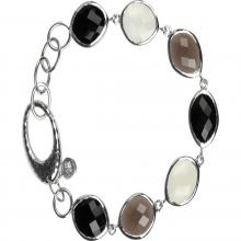 Multi Stone Silver bracelets