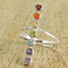 Multi-Gemstone Cocktail Ring