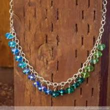 Silver Step Necklaces