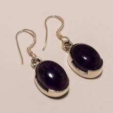 Sterling Silver Amethyst Earring