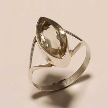 Sterling Silver Lemon Topaz Ring