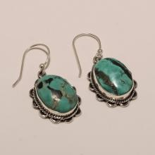 Sterling Silver Turquoise Earring 6.5
