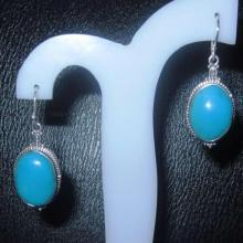 Sterling Silver Turquoise Earring 7.41