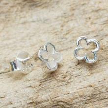 Thai Fair Trade Sterling Stud Earrings