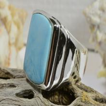 Turquoise Rings Handmade Turquoise Rings Sterling Silver Turquoise Rings Gemstone Jewelry Turquoise Jewelry