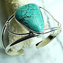 925 sterling silver gemstone handmade bangle