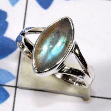 labradorite Ring, labradorite Ring, Plain Ring, labradorite Ring, Handmade Women Ring, Silver Stone Ring, Promise Ring