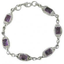 labrodorite stone sterling silver bracelet