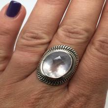 silver ring with rose quartz stone,rose quartz ring,rose quartz jewelry,silver jewelry,boho ring,gypsy ring,love stone ring,stone ring